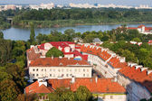 Warsaw Cityscape — 图库照片