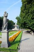 Park Saski in Warsaw — Stock Photo