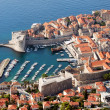 Dubrovnik Aerial View - Stock Photo