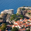 Fort Lourijenac in Dubrovnik — Stock Photo