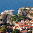 Fort Lourijenac in Dubrovnik - Stock Photo