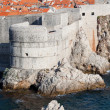 Dubrovnik City Wall — 图库照片