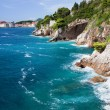 Adriatic Sea Coastline - Foto Stock