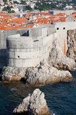 Dubrovnik City Wall — Zdjęcie stockowe