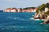 Dubrovnik on the Adriatic Sea — Stock Photo