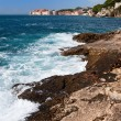 Adriatic Sea Coastline - Stock Photo