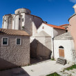 St. Donatus Church Courtyard — Stock Photo