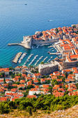 Dubrovnik from Above — Stock Photo