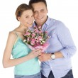 Happy Casual Couple in Love — Stock Photo #4671368