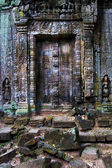 Ancient Temple Blind Doors — Stock Photo