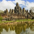 bayon temple architecture — Stock Photo