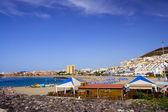 Los Cristianos Beach in Tenerife — Stock Photo