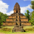 Pyramid Temple in Cambodia - Stock Photo