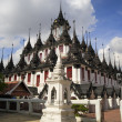 Loha Prasat in Bangkok - Stock Photo