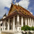 Wat Ratchanatdaram in Bangkok - Stock Photo