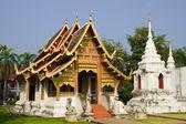 Chiang mai буддийский храм — Стоковое фото
