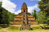 Pyramid Temple in Cambodia — Stock Photo