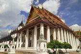 Wat Ratchanatdaram in Bangkok — Stock Photo