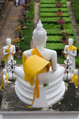 Buddha and His Apprentices — Stock Photo