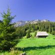 Tatra Mountains in Poland - Stock Photo