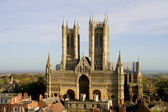 Lincoln Cathedral — Stock Photo