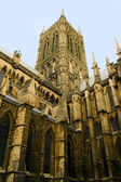 Lincoln Cathedral Architecture — Stock Photo