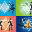 Jewish holidays — Stock Photo #3938760