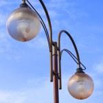 Modern glass street lantern — Stock Photo #5011250