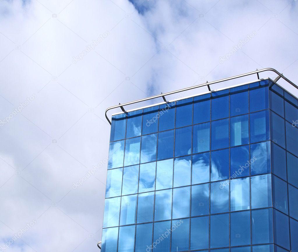 modern office building from dark blue glass stock photo 5146837 blue glass top modern office