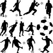 Fútbol — Vector de stock