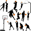Basketball — Stock Vector #4360296