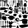 Kitchen tools — Stock Vector #5162893