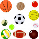 Balls sport — Stock Vector #5186300