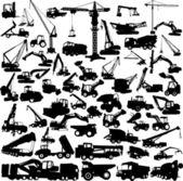 建設機械 — ストックベクタ