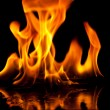 Fire flame - Stockfoto
