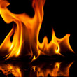 Fire flame — Stockfoto