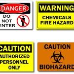 Warning Signs — Stock Vector #4060406