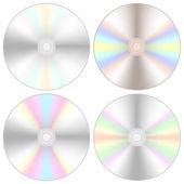 Compact Discs — Stock Vector