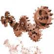 Rolling Gears — Stock Photo