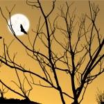 Moon Scene — Stock Vector #4259973