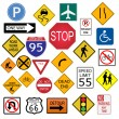 Road Signs — Stock Vector #4562483