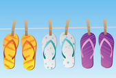 Flops flip — Vecteur