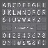 Scoreboard — Stok Vektör