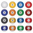 Billiard Balls — Stock Vector #5309737
