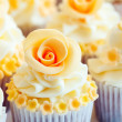 Wedding cupcakes — Stock Photo #4679832