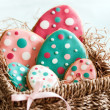 Easter egg cookies — Stock Photo #5073705
