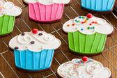 Cupcake cookies — Stock Photo