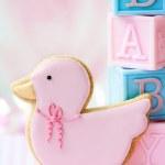 Bebek duş kurabiye — Stok fotoğraf #5200297