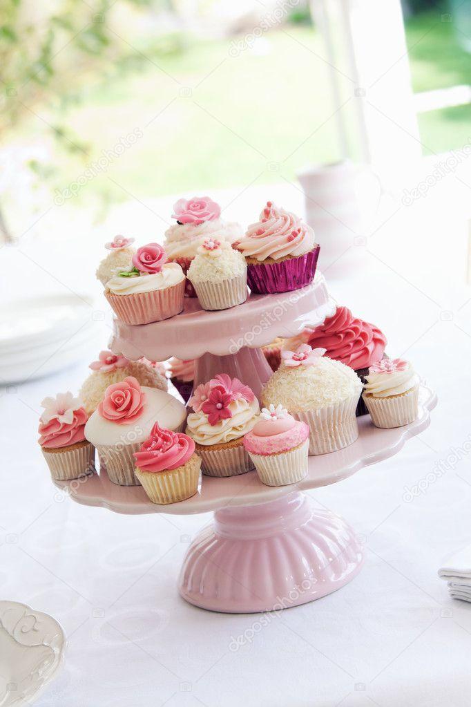 Cupcake stand — Stock Photo © RuthBlack #5256708