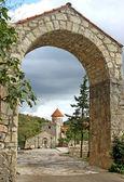 Motsameta monastery — Stock Photo